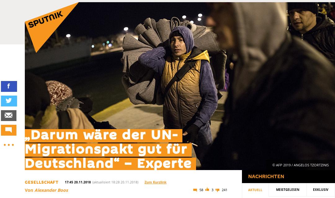 Interview zum UN-Migrationspakt